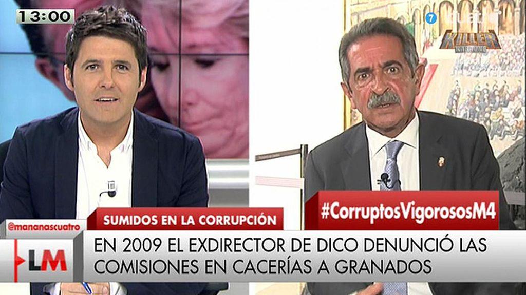 """M. A. Revilla: """"No nos mienta señora Aguirre"""""""