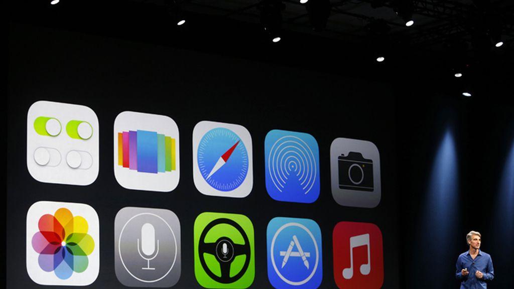 Apple presenta su nuevo IOS7