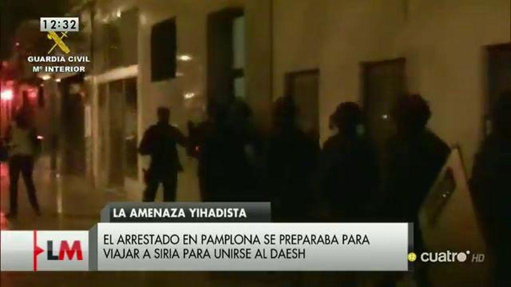 Detienen a un ciudadano marroquí en Pamplona acusado de captar yihadistas