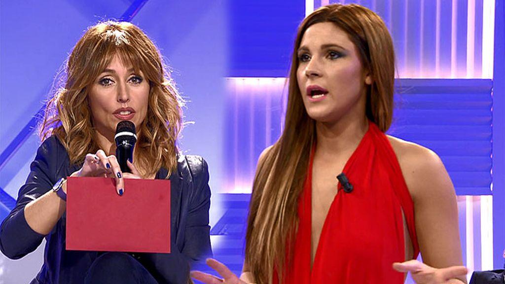 ¿Qué significado tiene el sobre rojo que Emma tiene para Alba?