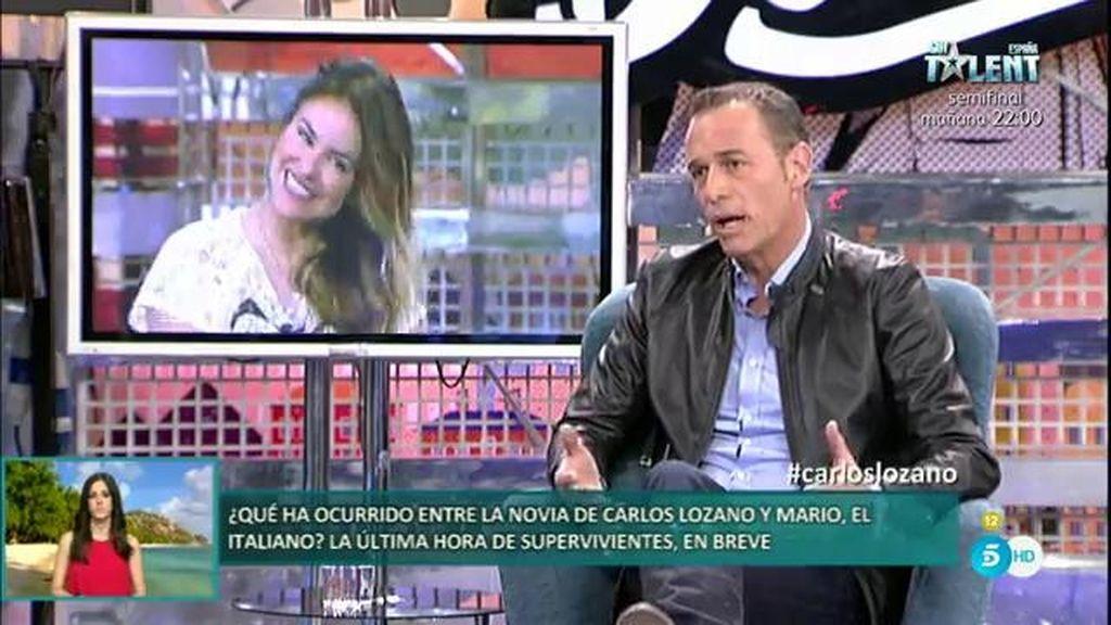 """Carlos Lozano explica lo más doloroso para él: """"Que Mónica no esté feliz"""""""