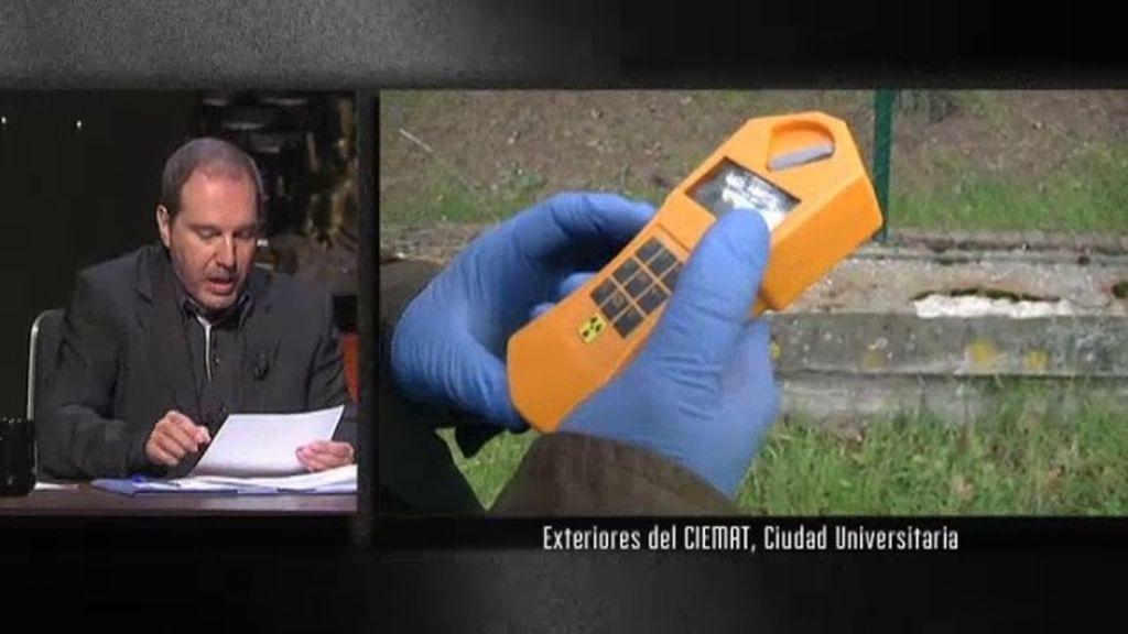 El equipo de Cuarto Milenio analiza la radiactividad que hay en Madrid