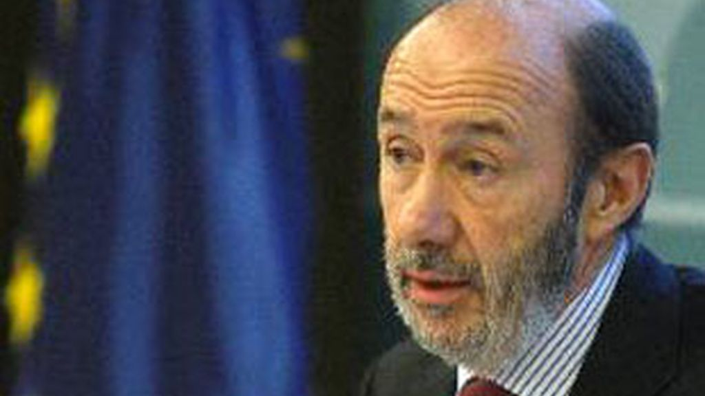 El vicepresidente primero del Gobierno, Alfredo Pérez Rubalcaba.
