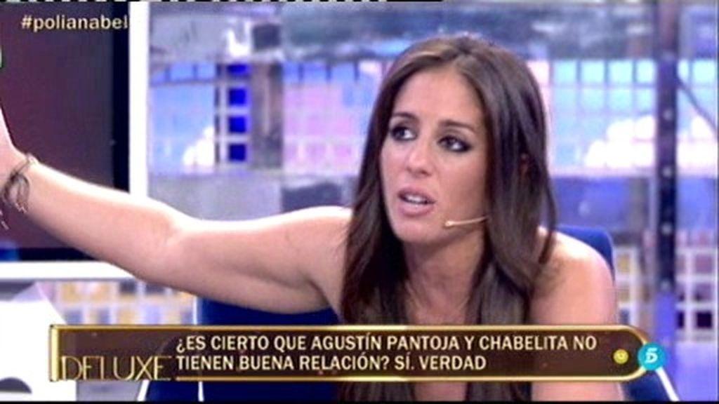 Anabel descubre en 'Deluxe' la mala relación de Isa Pantoja y su tío Agustín