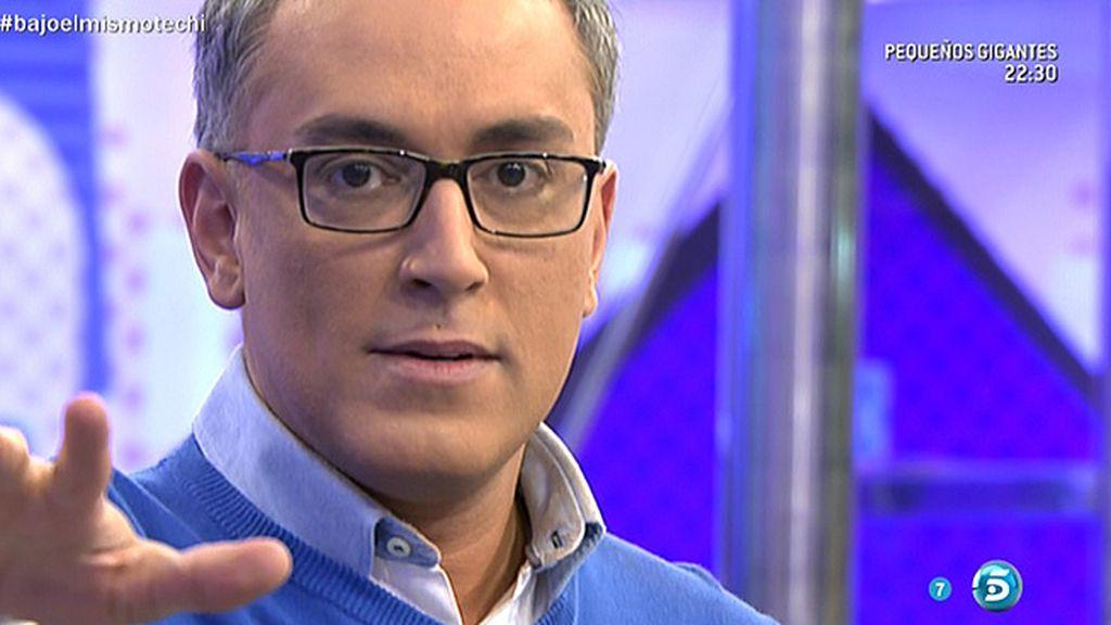 Alberto Isla va a interponer una querella contra Chabelita, según Kiko Hernández