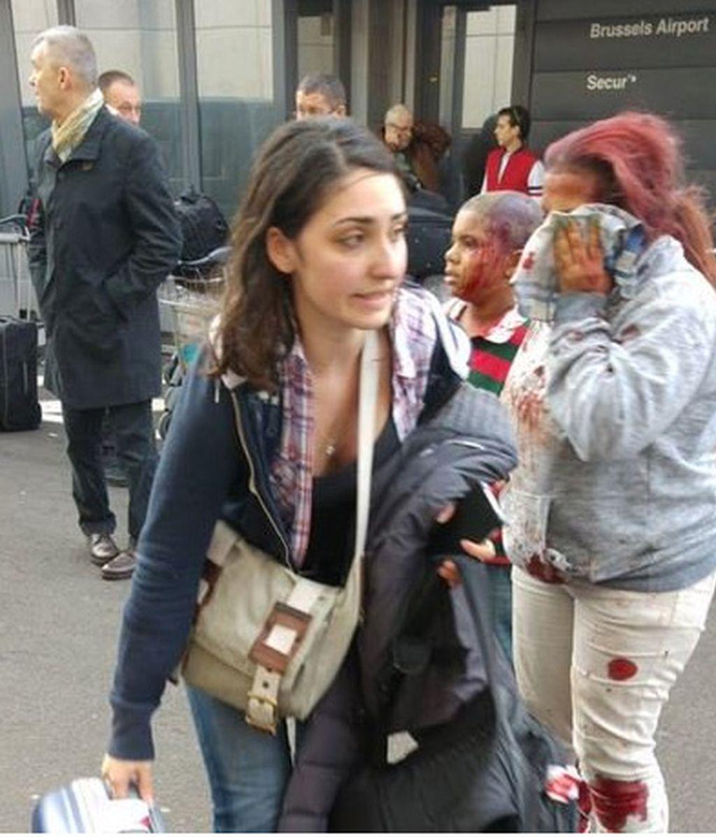 Cadena de ataques suicidas en Bruselas