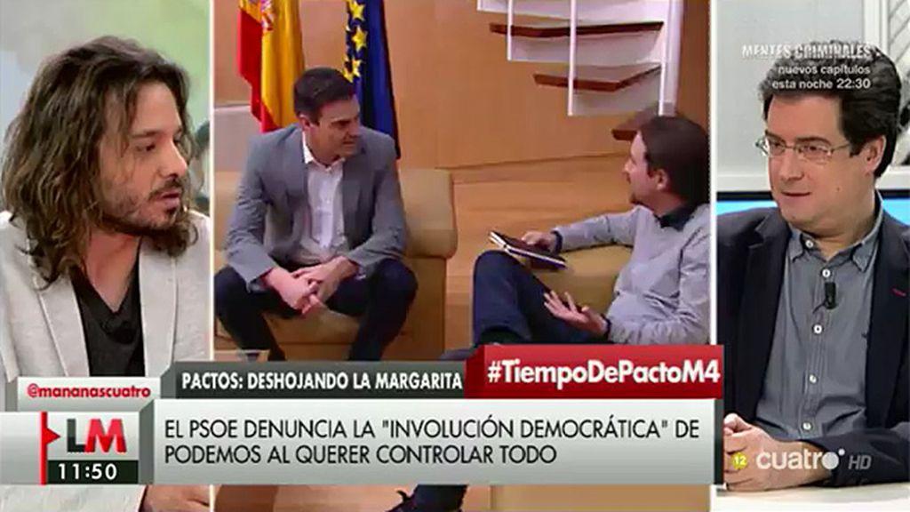 """Miguel Vila, a Óscar López: """"Tus declaraciones no ayudan en nada a que lleguemos a un acuerdo"""""""