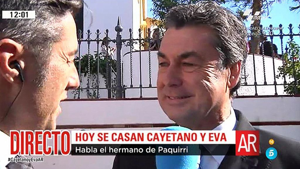 """El hermano de Paquirri: """"Paco estará viendo a Cayetano allí donde esté"""""""