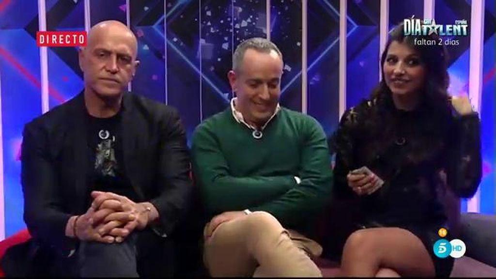 """El reencuentro de Víctor Sandoval y el 'Súper': """"Acuérdate de respirar"""""""