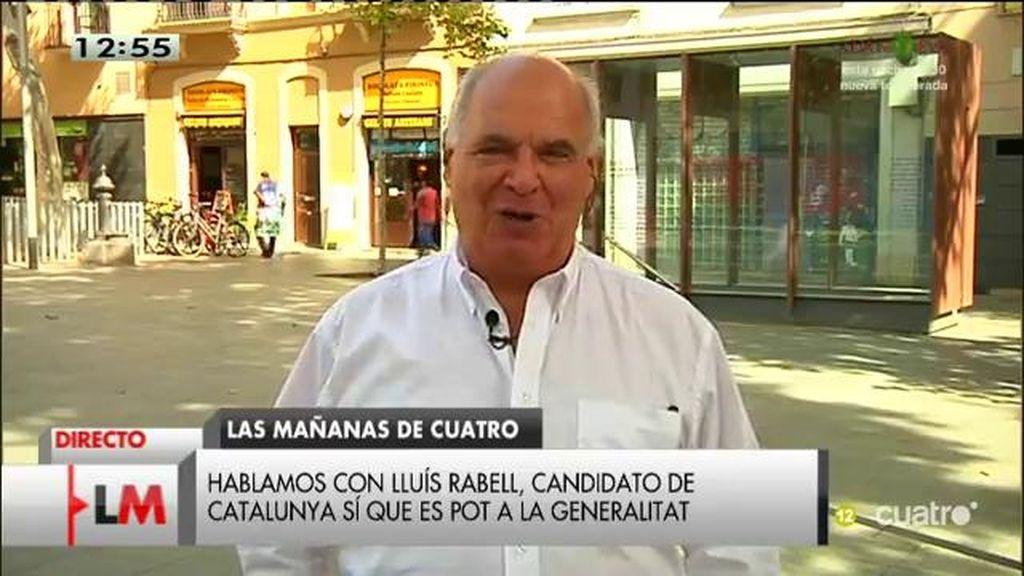 """Lluís Rabell: """"El anticatalanismo vende según los cálculos del PP"""""""
