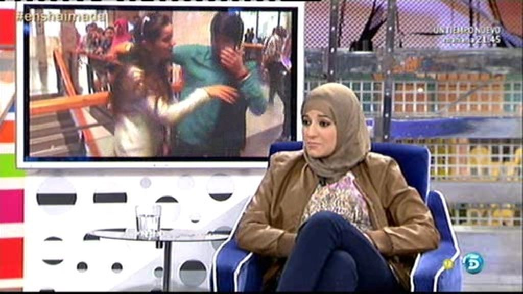 """Shaima: """"Nunca he besado a un chico"""""""