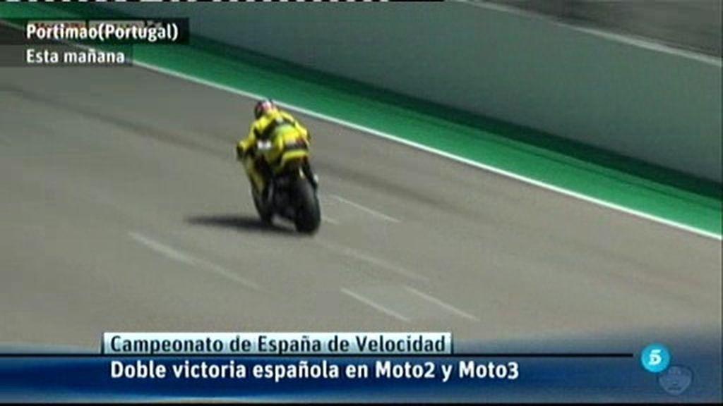 Doble victoria española en el CEV