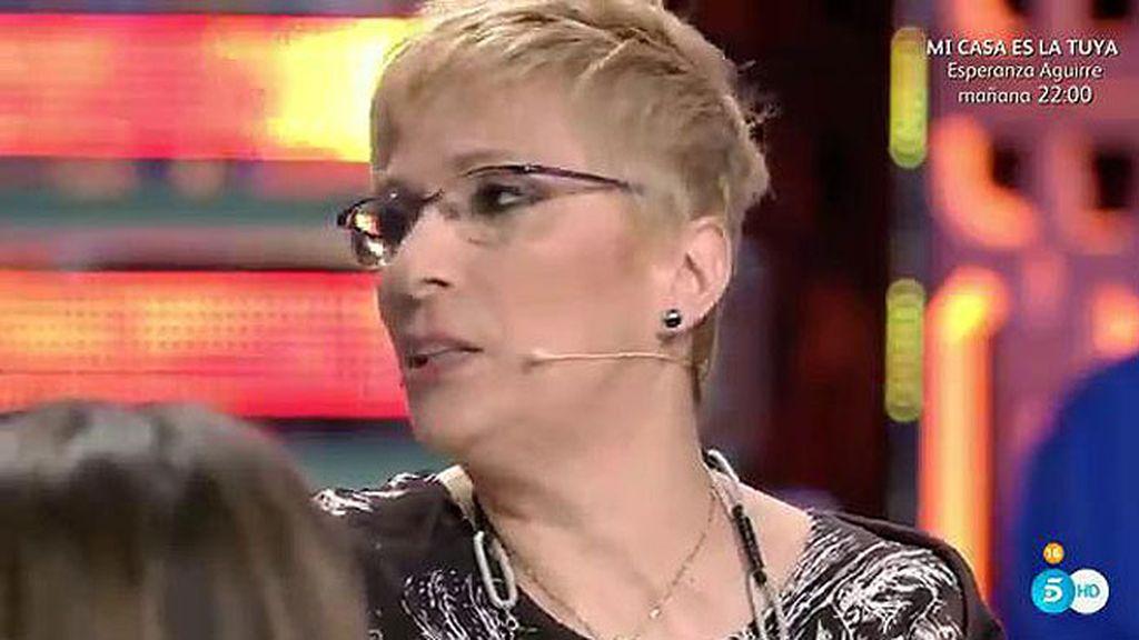 """Mercedes, madre de Suso: """"El tonto es Suso y la lista es Yola, les está controlando"""""""