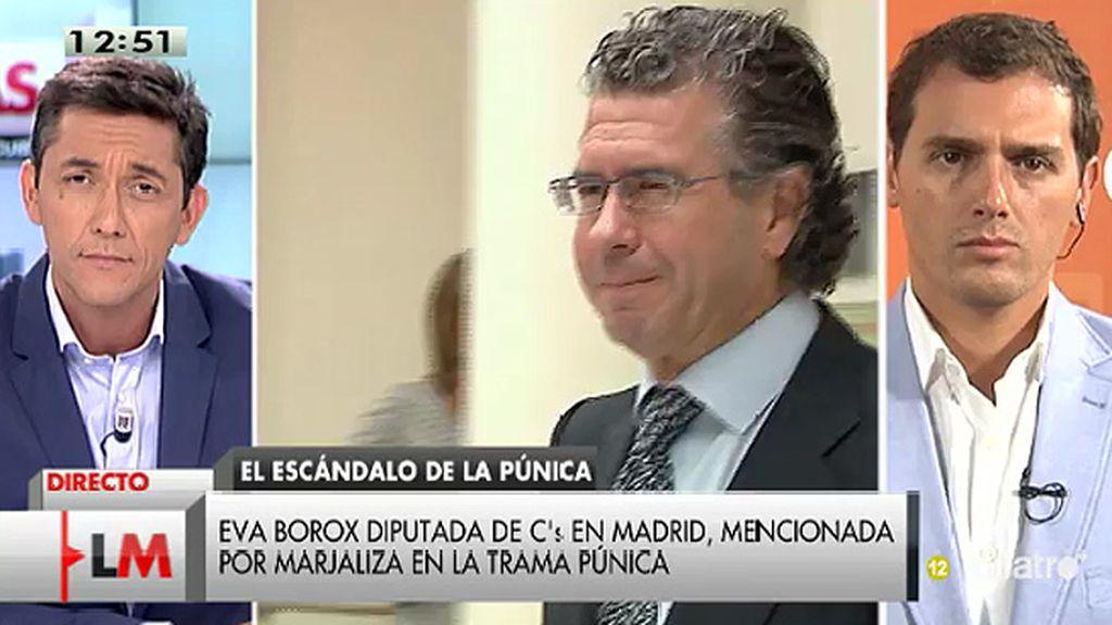 """A. Rivera, de la Púnica: """"Hay que saber quién se beneficia y quién está al corriente de la trama, ahí está la responsabilidad política"""""""