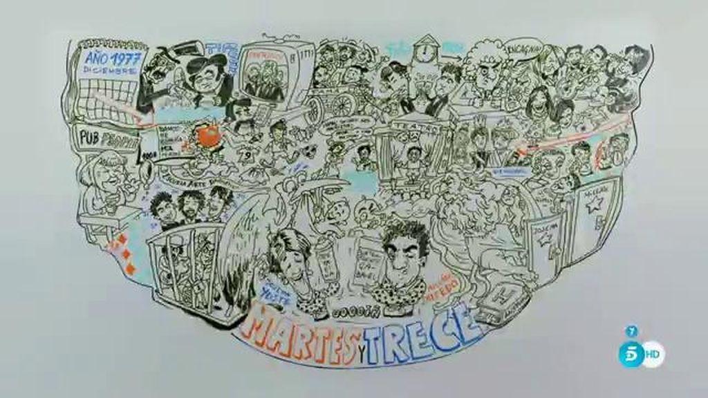 La biografía animada de Martes y Trece: el relleno perfecto de cualquier empanadilla
