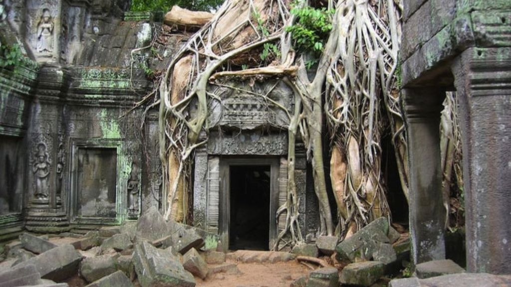 Angkor Wat en Cambodia
