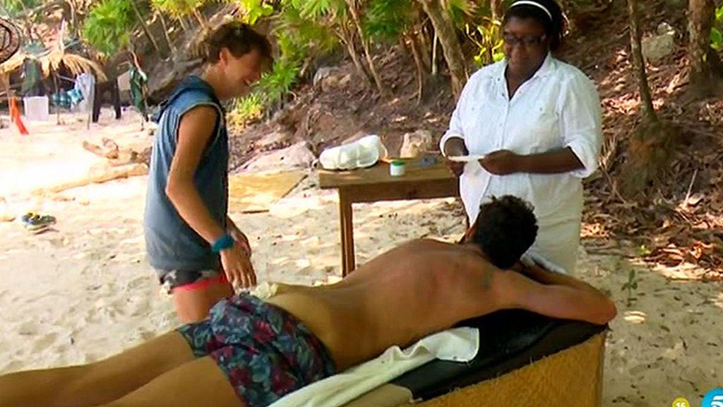 El spa de Playa Uva
