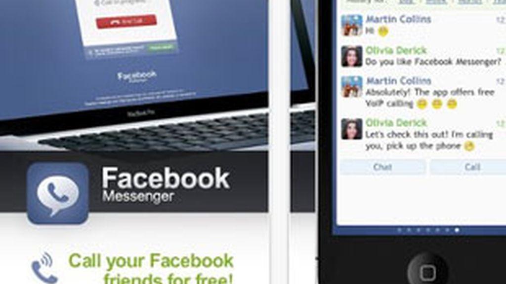 Facebook Messenger trata de comer terreno a otros populares servicios como BlackBerry Messenger o Whatsapp