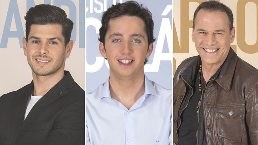 Alejandro, Fran Nicolás y Carlos Lozano, nuevos nominados de la semana