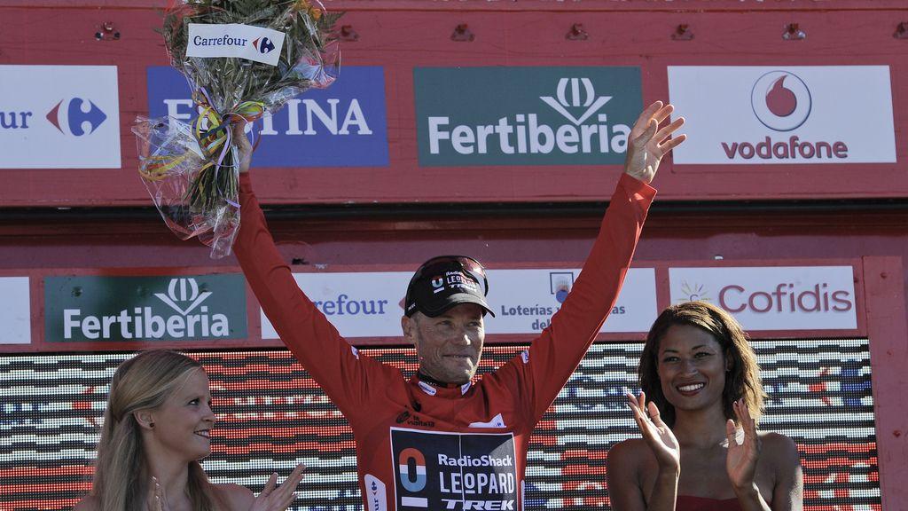 Horner, ganador virtual de la Vuelta Ciclista a España
