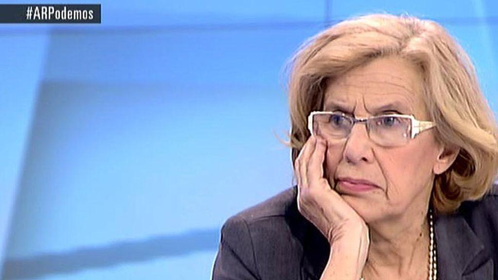 """Carmena: """"Las iniciativas, si son buenas, deben formar parte de las decisiones, vengan de quien vengan"""""""