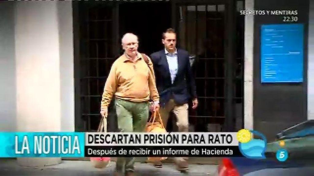 Anticorrupción descarta solicitar el envío a prisión de Rodrigo Rato