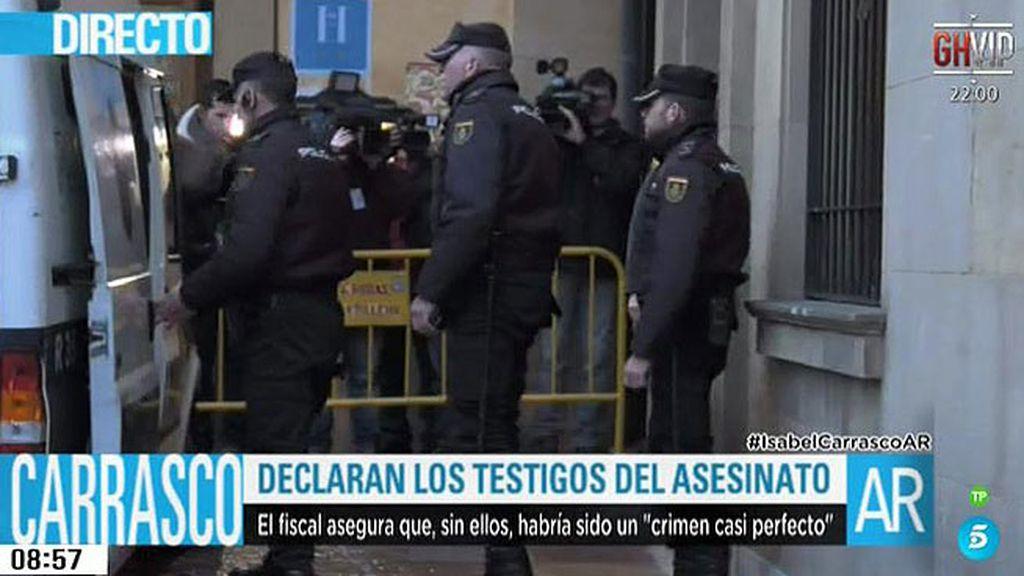 Hoy declara el policía jubilado que vio como Montserrat disparaba contra Carrasco