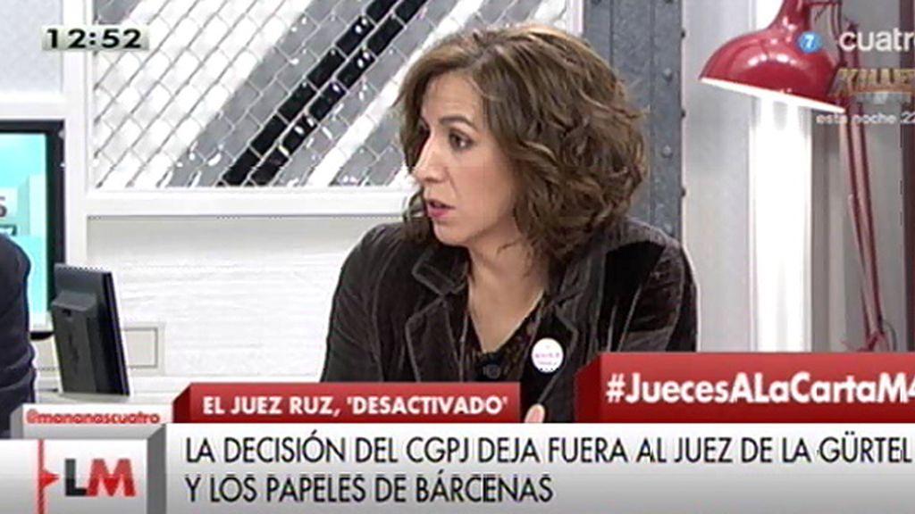 """Irene Lozano (UPyD): """"Se están jugando que les desmantelen o no el chiringuito"""""""