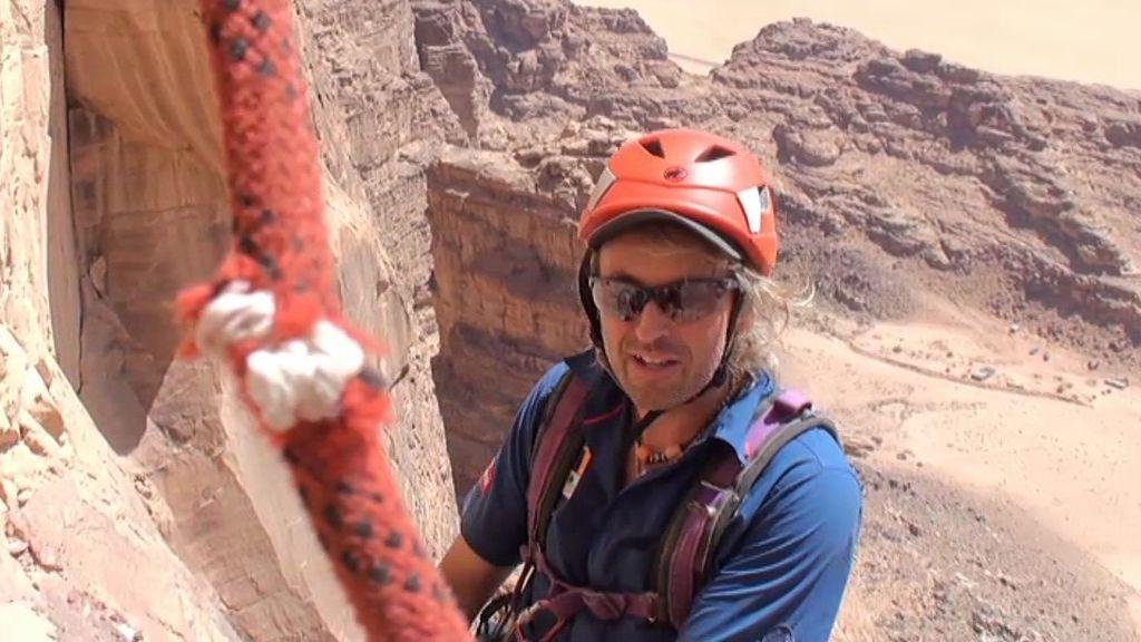 Las mejores imágenes de Wadi Rum: escalada entre las dunas