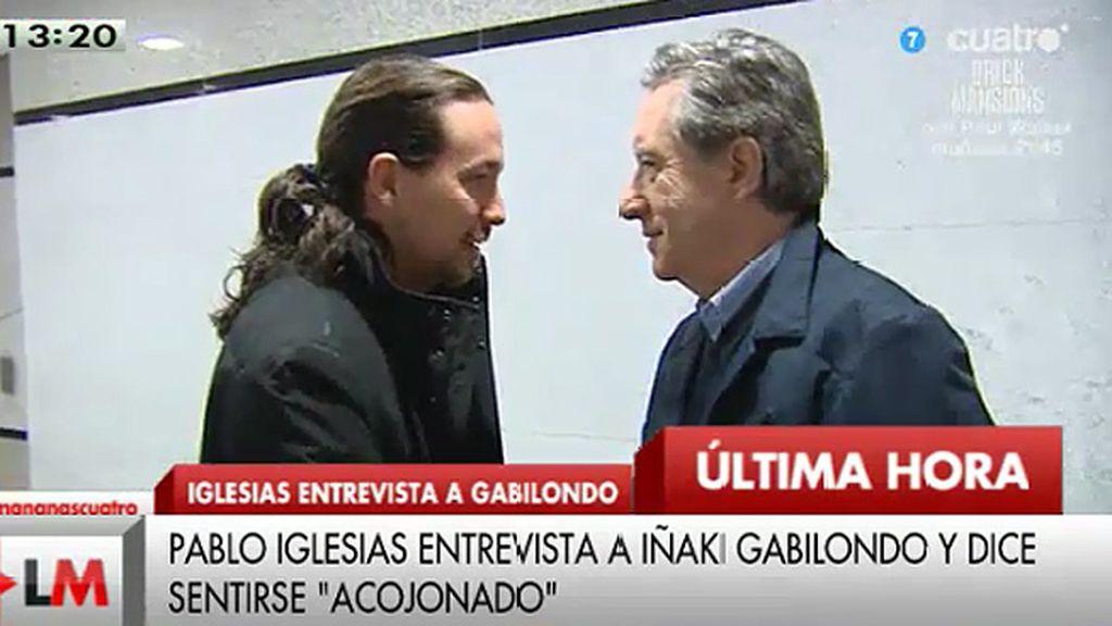 """Iñaki Gabilondo, entrevistado por Pablo Iglesias: """"Si sale bien a lo mejor le pido a Rajoy que me haga otra"""""""