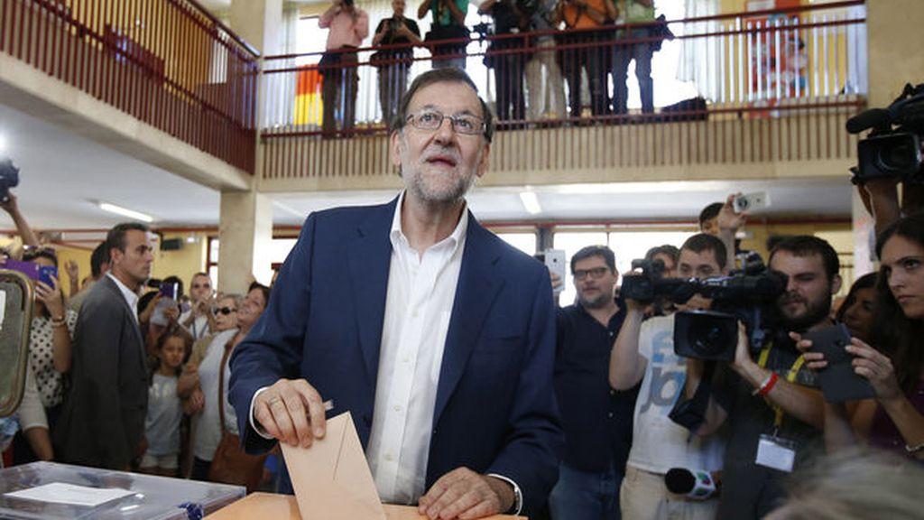 """Rajoy, tras votar: """"España será lo que los españoles quieren que sea"""""""