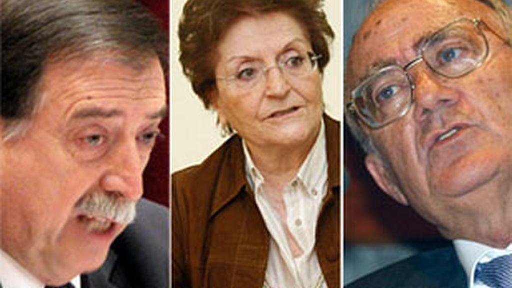 Eugeni Gay Montalbo, Elisa Pérez y Javier Delgado. Vídeo: Informativos Telecinco.