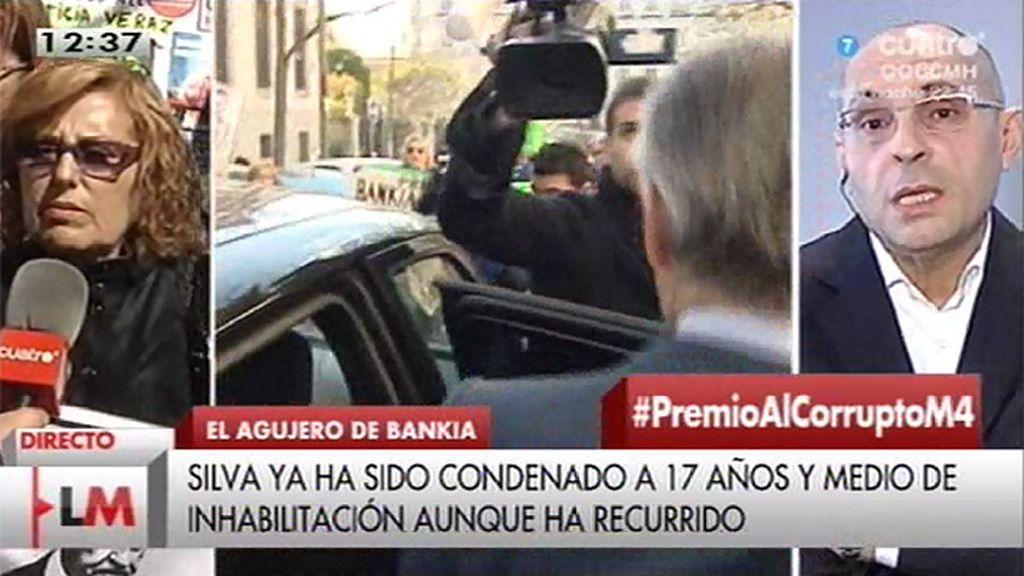 "Elpidio Silva: ""La justicia es un títere en manos de Blesa"""