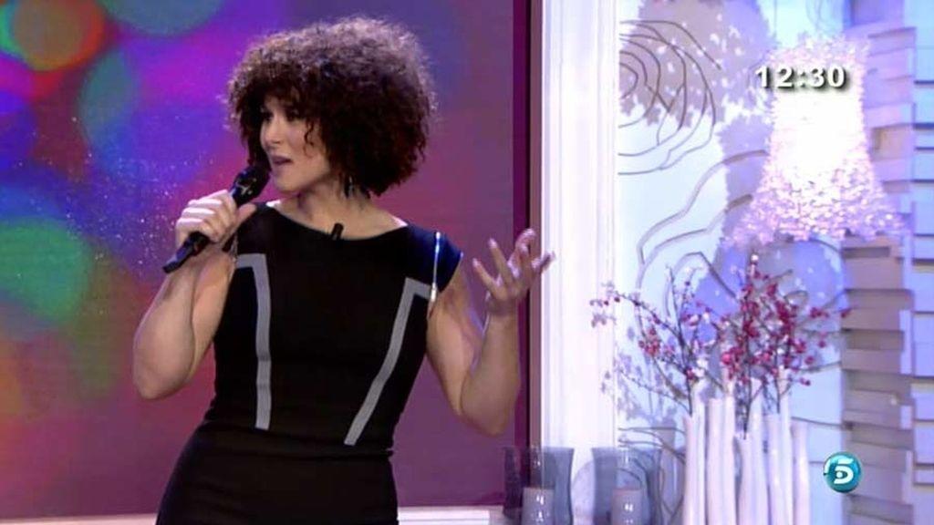 La cantante ha presentado su nuevo album en 'El programa del verano'