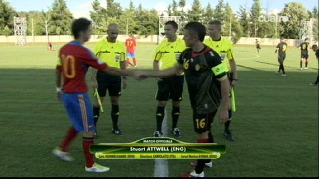 España se estrena con goleada en el Europeo Sub'19