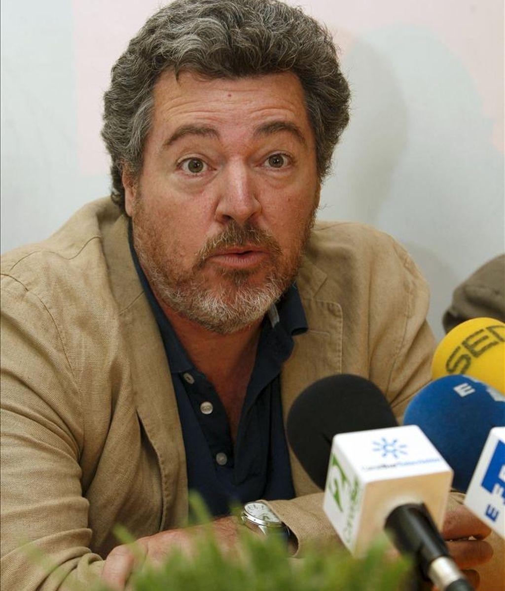 Juan López de Uralde, principal impulsor de la plataforma política Equo. EFE/Archivo