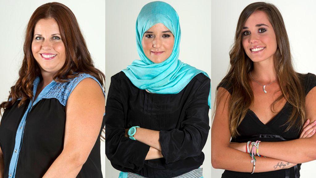 Mayca, Shayma y Alejandra, segundas nominadas de 'Gran Hermano 15'