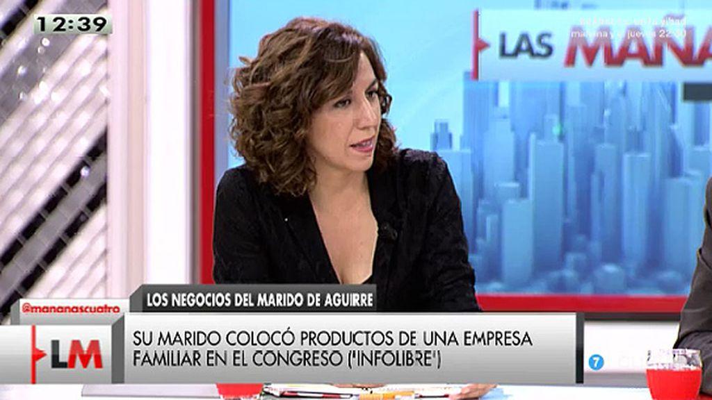 """I. Lozano: """"La crisis ha permitido ver que hay gente que nos gobierna que ha antepuesto su beneficio particular al general"""""""