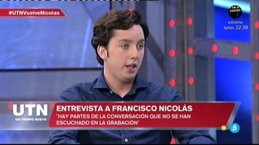 """Nicolás, sobre J. de la Rosa: """"Se le pagó una parte tras las declaraciones"""""""