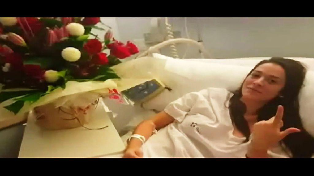 """Ruth nos manda un mensaje desde el hospital: """"Espero estar muy pronto ahí"""""""