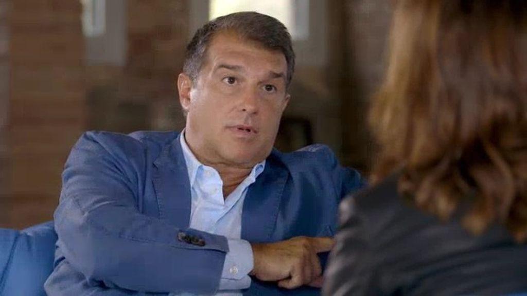 """Laporta, sobre Jordi Pujol: """"Sabemos que no está bien hecho pero es comprensible"""""""