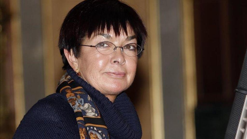 Fotografía tomada en diciembre de 2007 en la que se registró a la magistrada española Margarita Uría, quien apoya la presencia de observadores internacionales en el juicio a la jueza venezolana María Lourdes Afiuni. EFE/Archivo