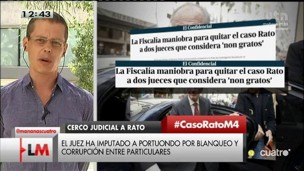 """Sergio, de 15MPaRato: """"Pedimos la cautelar porque Rato puede destruir pruebas"""""""