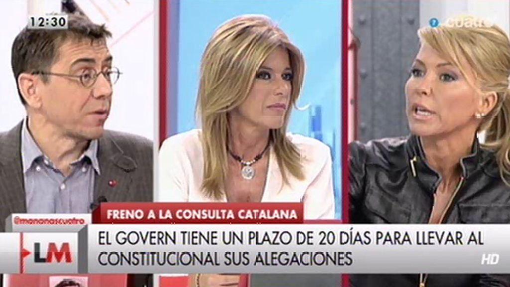 """Monedero: """"Quien ha roto España es el PP"""""""