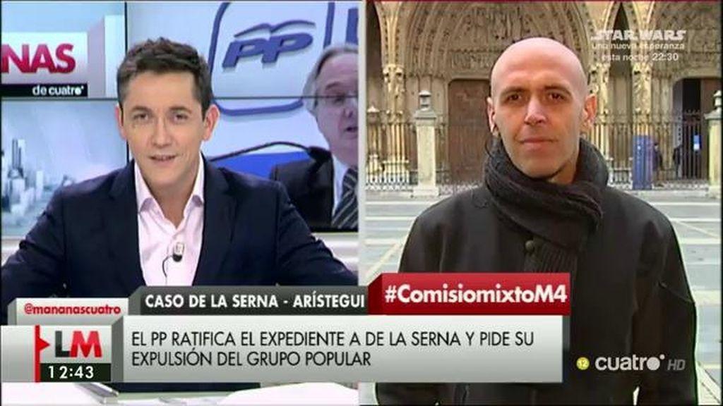 """Quico Alsedo: """"Es importante que esto no quede en unos cuantos titulares y Gómez de la Serna en el grupo mixto"""""""