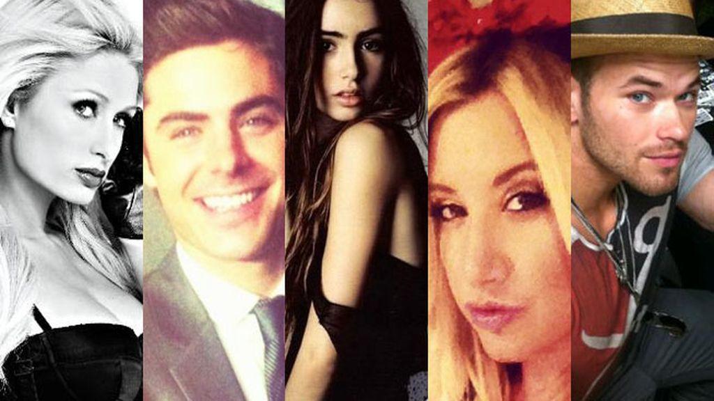 ¿A quién sigue Paris Hilton?
