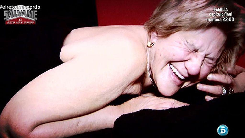 Carmen Bazán se enfada con Melu, lo intenta con la nieve y se relaja con un masaje