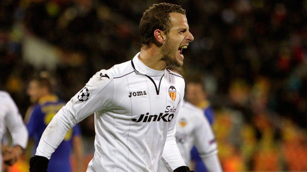 Soldado da la victoria al Valencia