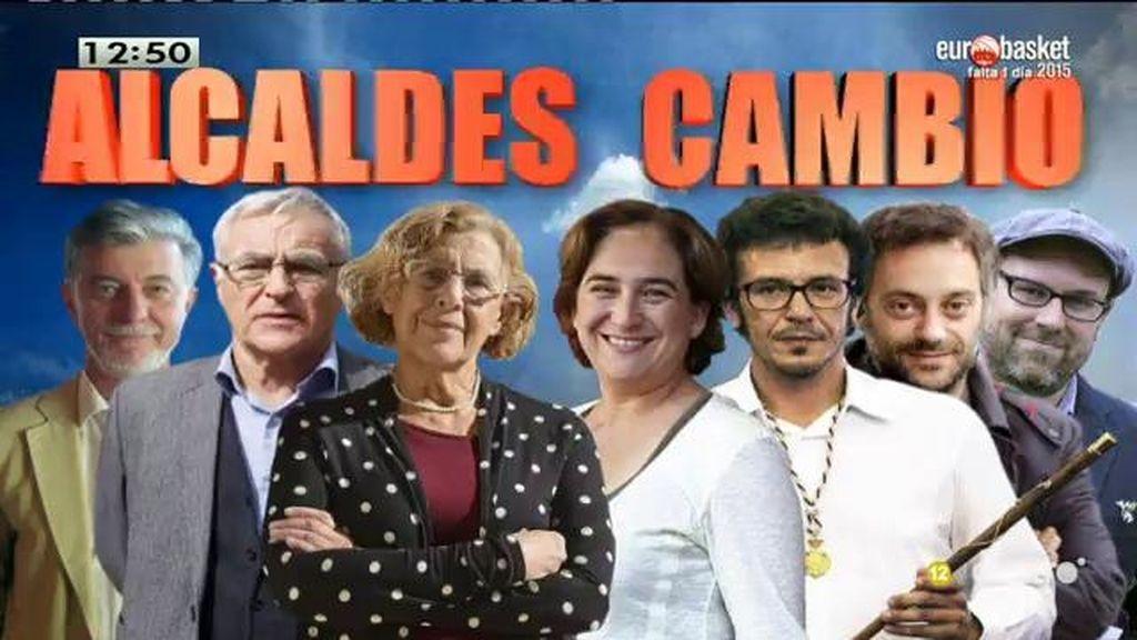 Los 'alcaldes del cambio' se unen a Ada Colau ampliando la red de ciudades - refugio