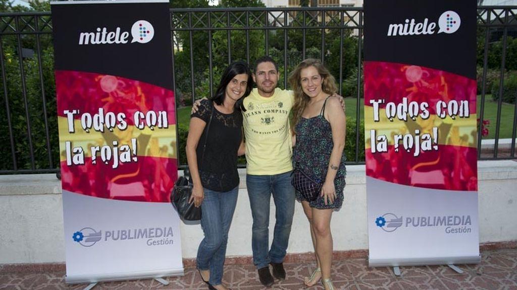 Publimedia organizó una fiesta de apoyo a 'La Roja'